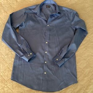 NWOT Kenneth Cole Reaction, Blue button up.